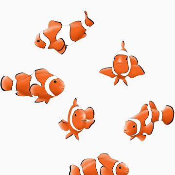 Clown Fishs by danielgre