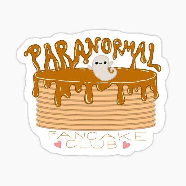 Paranormal Pancake Logo Sticker