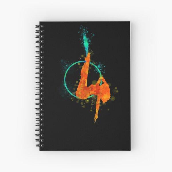 The Aerial Arts - Lyra Hoop Spiral Notebook