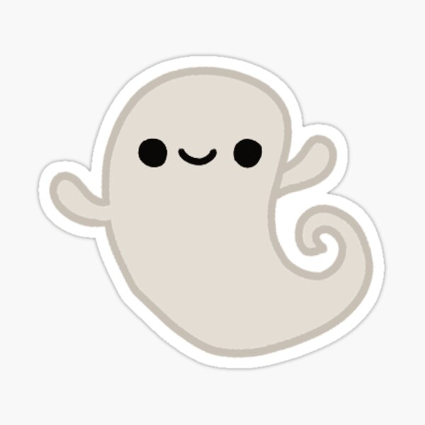 Flapjack the Ghost Sticker