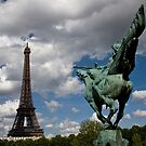 Horse and Tower by ChrisSinn