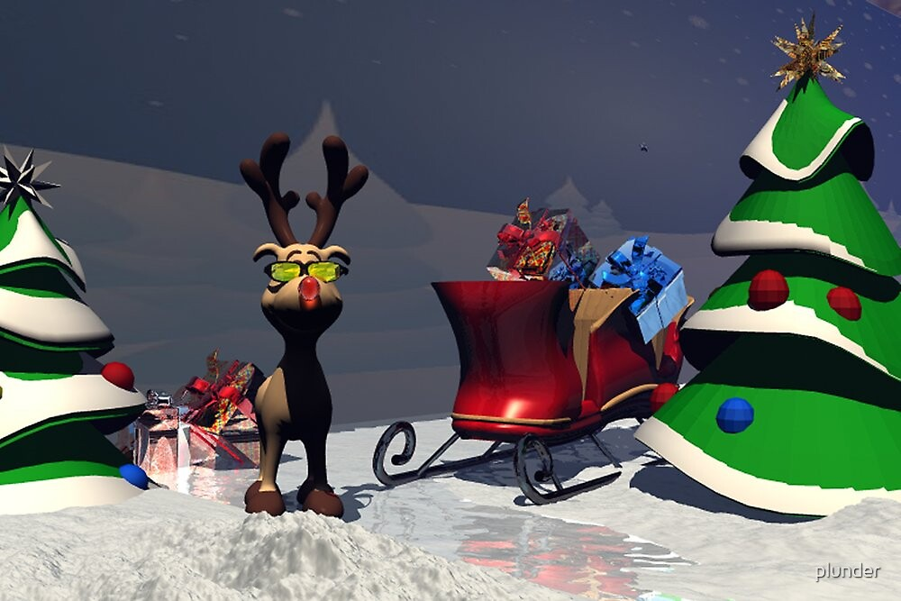 Rudolph's Adventure by plunder