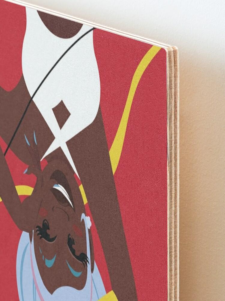 Alternate view of Cupid's Arrow Design Mounted Print