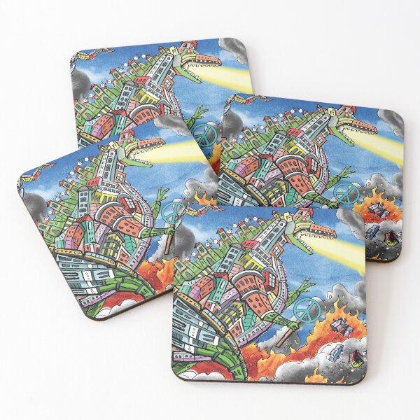 Urban Zilla Coasters (Set of 4)