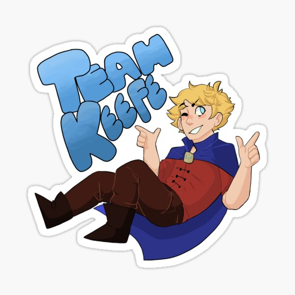 Équipe Keefe Sticker