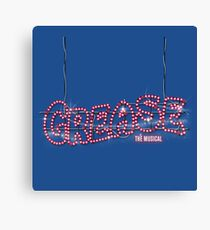 Grease: The Musical Canvas Print