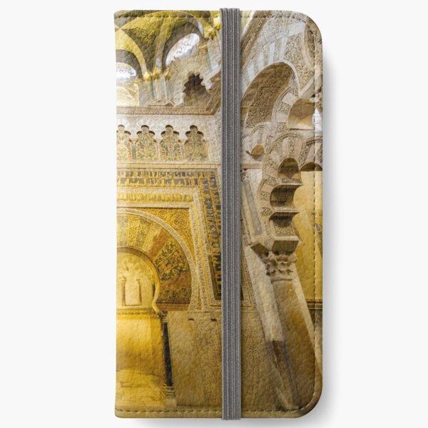 Al Hakam II's Mihrab in the Mezquita–catedral de Córdoba iPhone Wallet