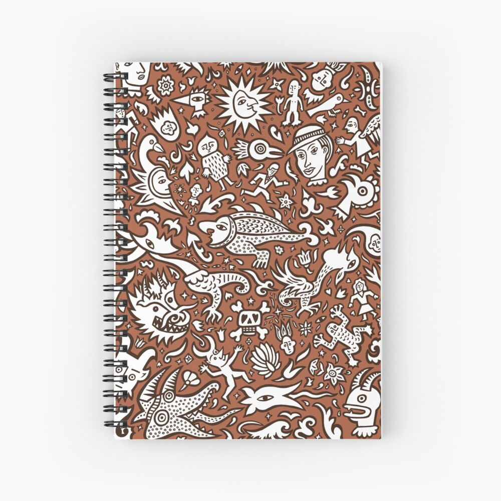 All these little things Spiral Notebook