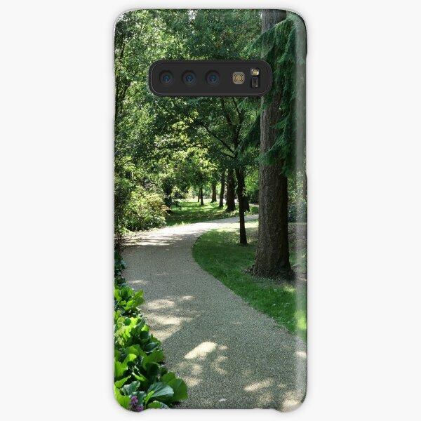 Garden path looks beautiful in sunlight Samsung Galaxy Snap Case