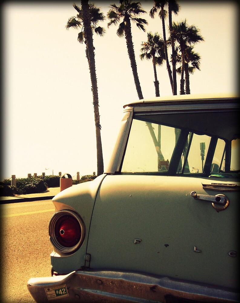 Old Beach Car by JayLeePhotos