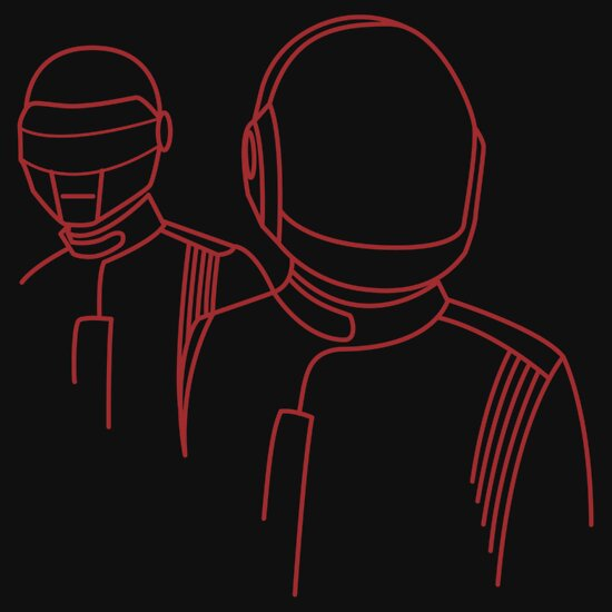 TShirtGifter presents: Daft Punk Robot Rock