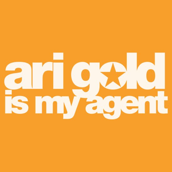 TShirtGifter presents: Ari Gold Is My Agent