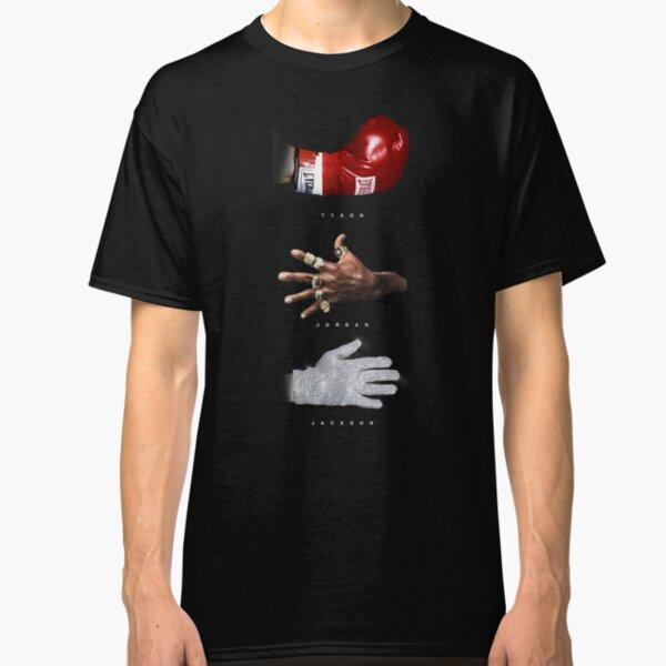 Tyson Jordan Jackson Tshirt Hoodie Gear Fan Art MJ Mike Tyson Michael Jordan Michael Jackson Classic T-Shirt