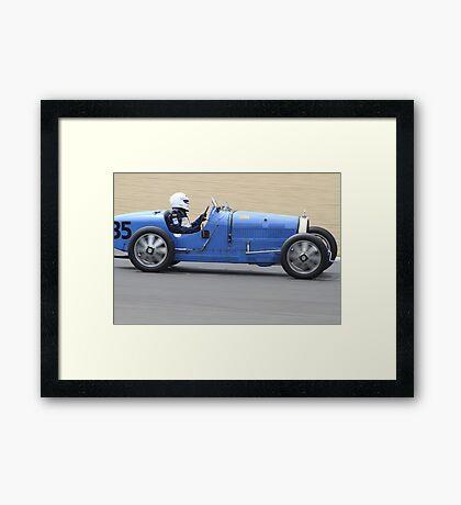 Bugatti T35C Framed Print