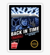 Back in Time Sticker