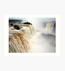 Foz do Iguaçu Art Print