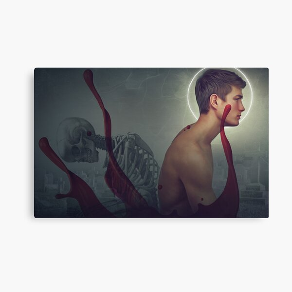 angel of death Canvas Print