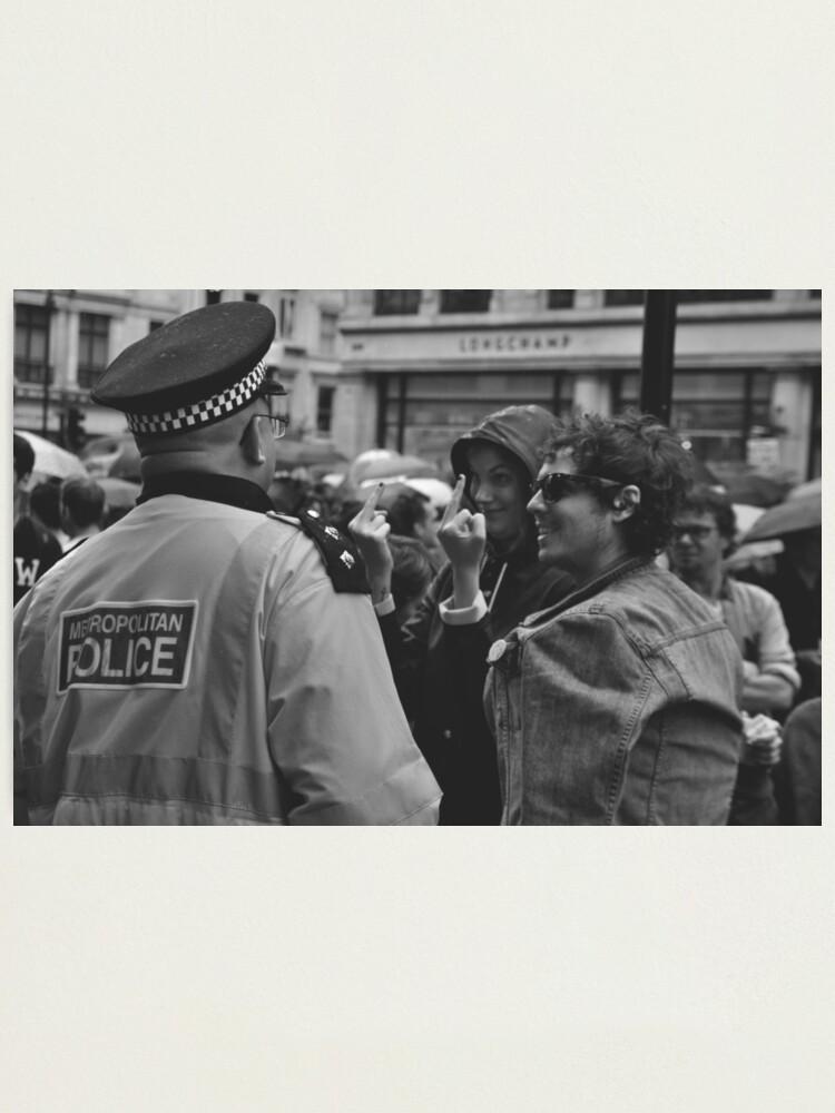 Alternate view of Public Servant - Regent Street, London Photographic Print
