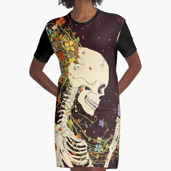 I Thought of the Life that Could Have Been Graphic T-Shirt Dress