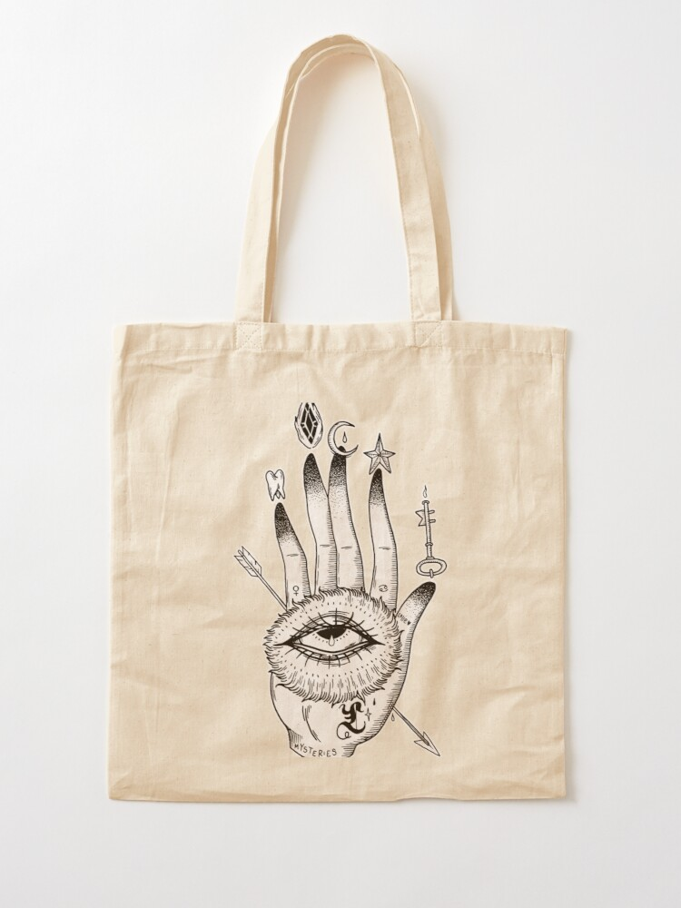 Alternate view of Hand of Mysteries  Tote Bag