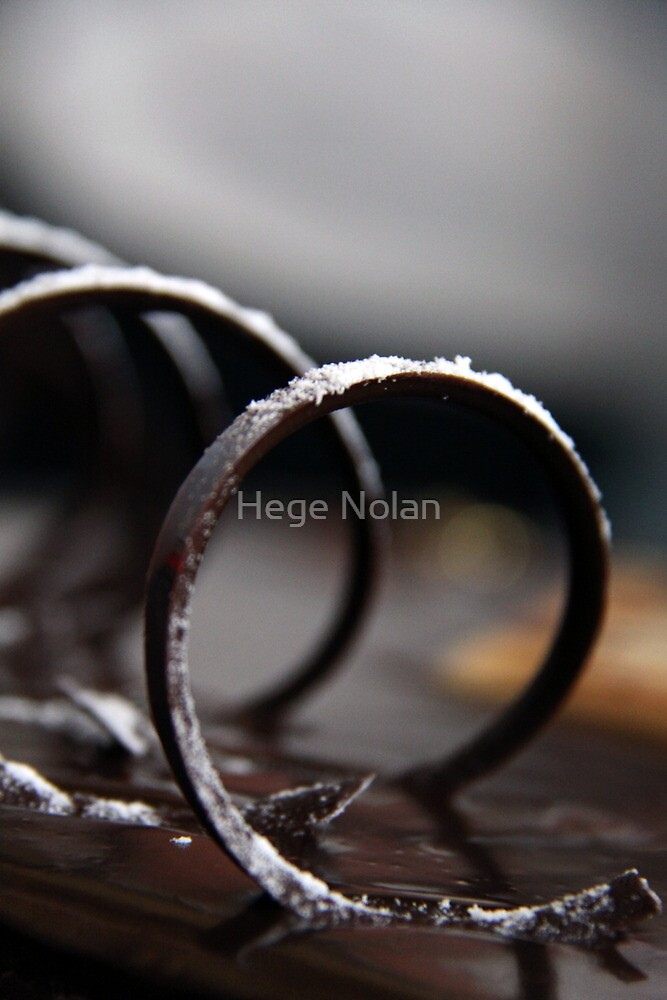 Chocolate Swirl by Hege Nolan