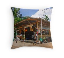 Rural Store Throw Pillow