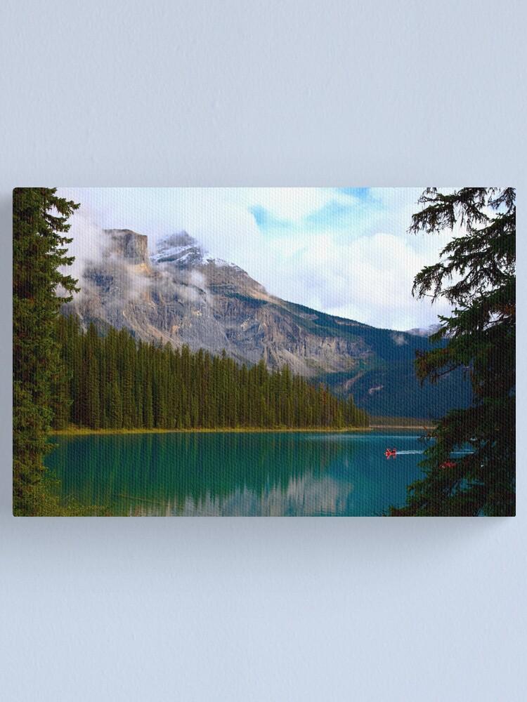 Alternate view of Emerald Lake Canvas Print
