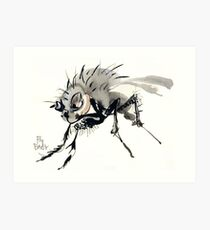Fly Baby Art Print