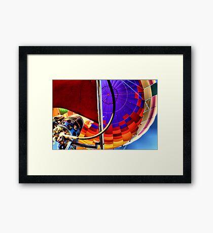 UP.. Framed Print