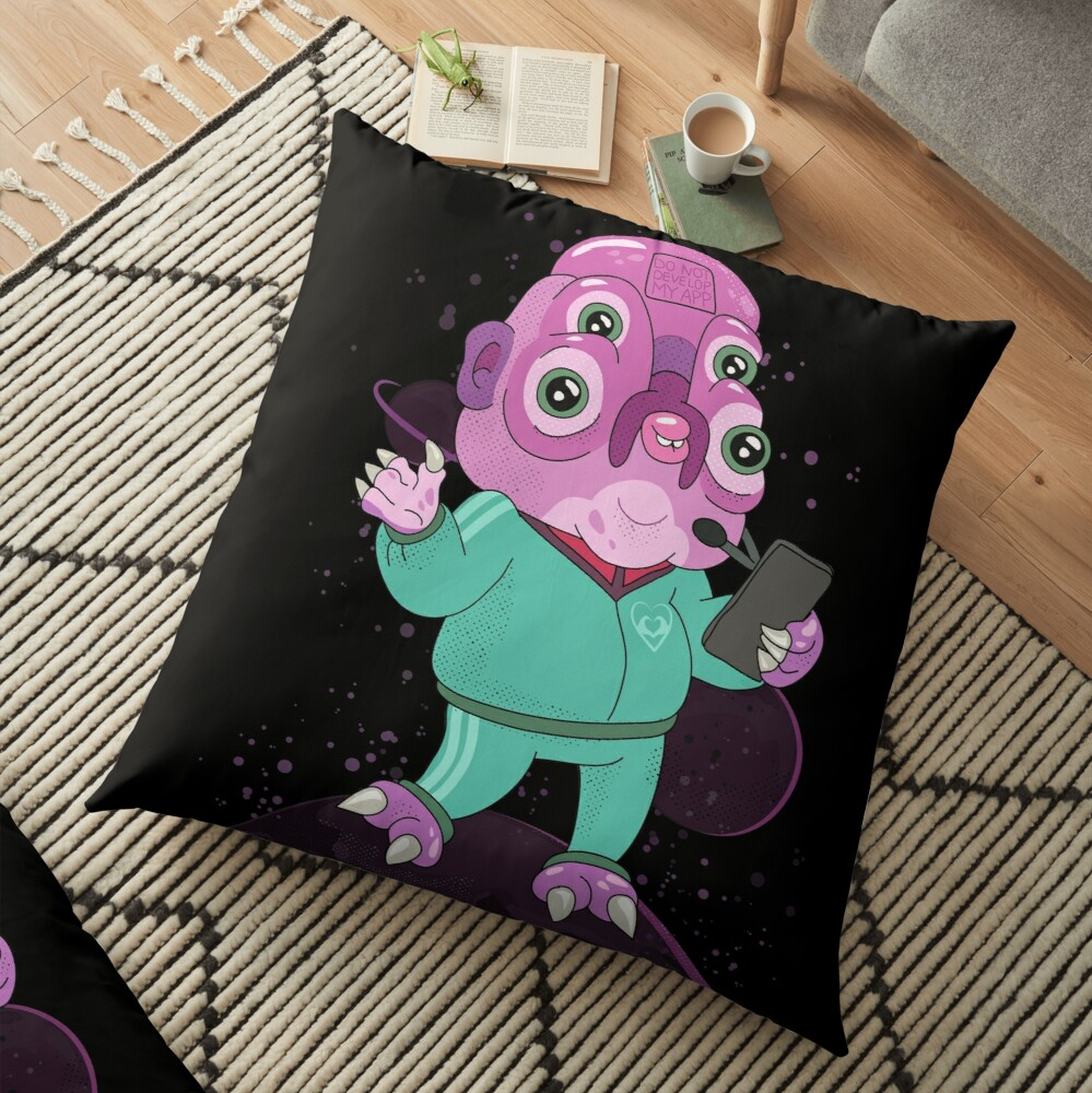 Glootie Floor Pillow