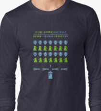 Dr ?: Space Invader Long Sleeve T-Shirt
