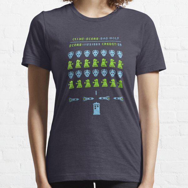 Dr ?: Space Invader Essential T-Shirt