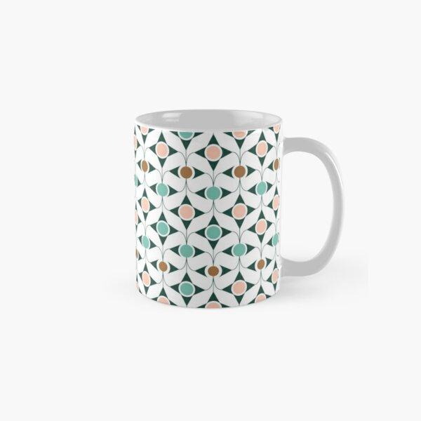 Geometric flowers Classic Mug