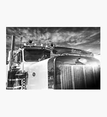 Peterbilt American Truck Photographic Print