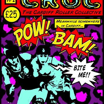 Croc Roller Comic by damdirtyapeuk