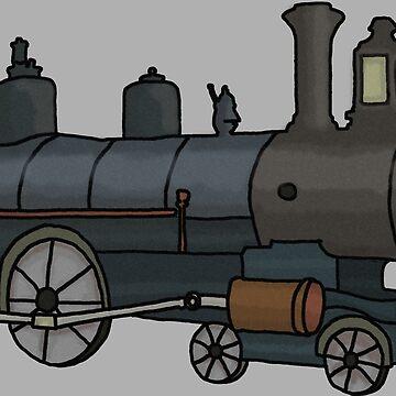 Steam Train by TheBitGeek