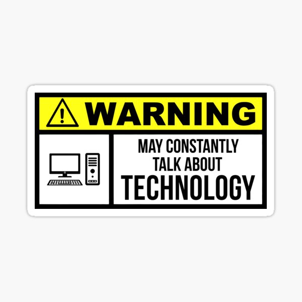 Technology Sticker