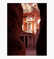 Khasneh - Petra, Jordan Photographic Print