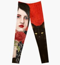 Mister Noir and I  Leggings