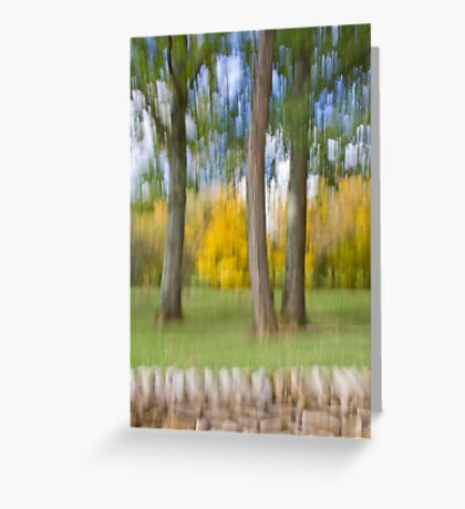 Softly Defining Fall in Quercy Greeting Card