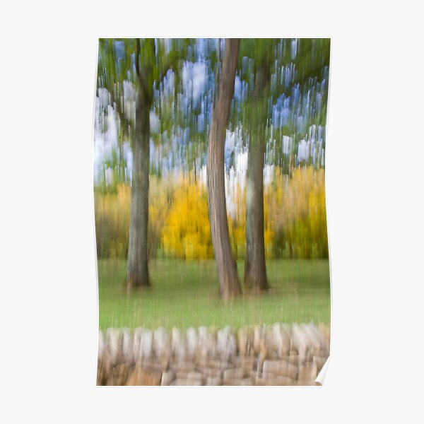 Softly Defining Fall in Quercy Poster