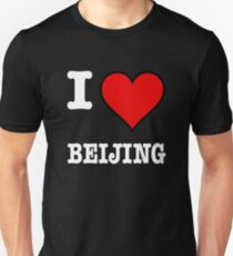 I Love Beijing (W) Slim Fit T-Shirt