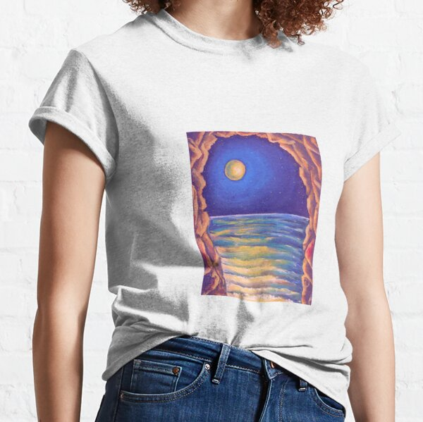 Oil Painting - The Ebb. 2009 Classic T-Shirt
