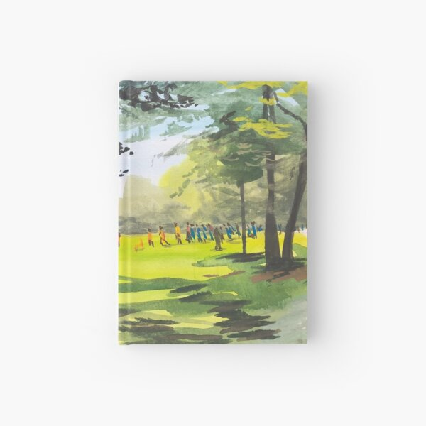 Field Games at Wapo Hardcover Journal