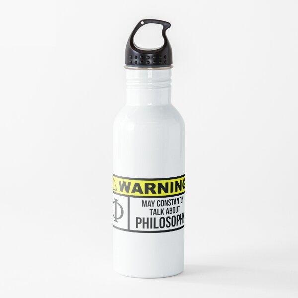 Filosofía Botella de agua
