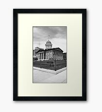 Springfield, Illinois - Old State Capitol Framed Print