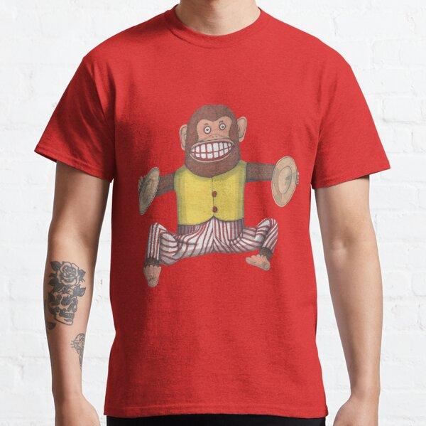 Monkey, Clapping Monkey, Retro Toy. Classic T-Shirt