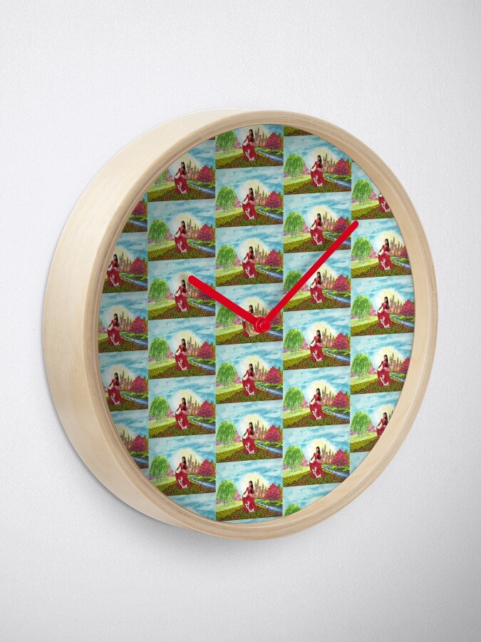 Alternate view of Princess Precious at Shining Palace - Clock Clock
