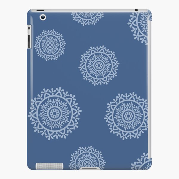 Indigo Mandala Print iPad Snap Case