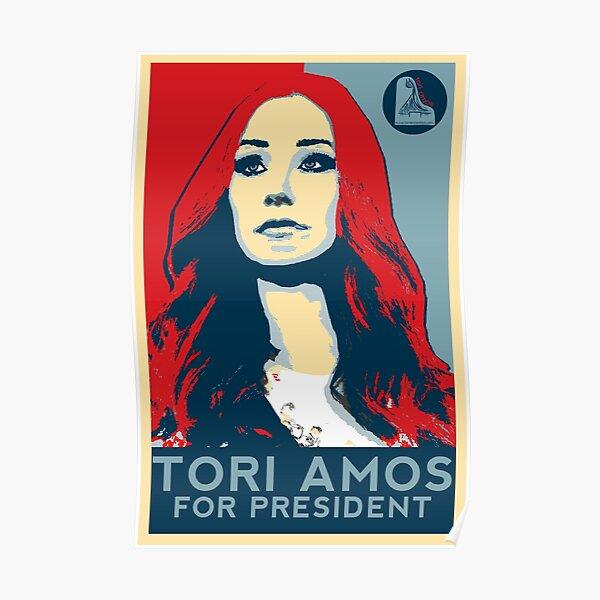 Tori For President Poster